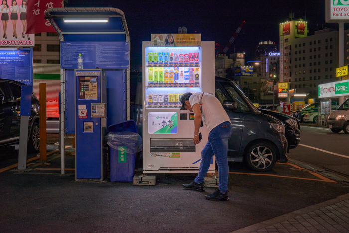 Vending machines open all night (2018_IK_04)